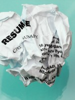 http://www.dreamstime.com/royalty-free-stock-image-resume-crumpled-image18194516